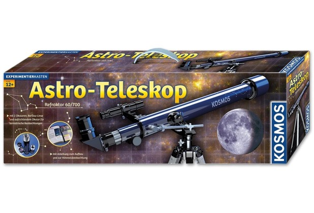 Kosmos experimentierkasten astro teleskop hertie.de