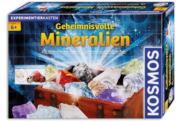 Kosmos experimentierkasten geheimnisvolle mineralien hertie