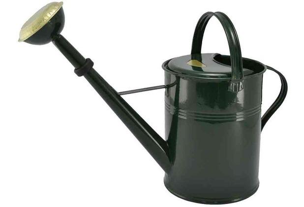Kovotvar Gießkanne 9L grün, mit Messingbrause und Gummidichtung