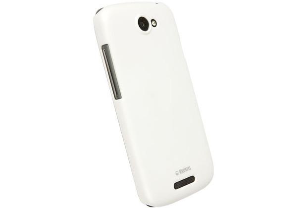 Krusell ColorCover für HTC One S, weiß