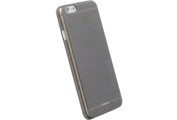 Krusell FrostCover Transparent für iPhone 6, schwarz