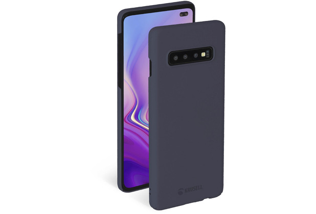 Krusell Sandby Cover for Galaxy S10+ stone