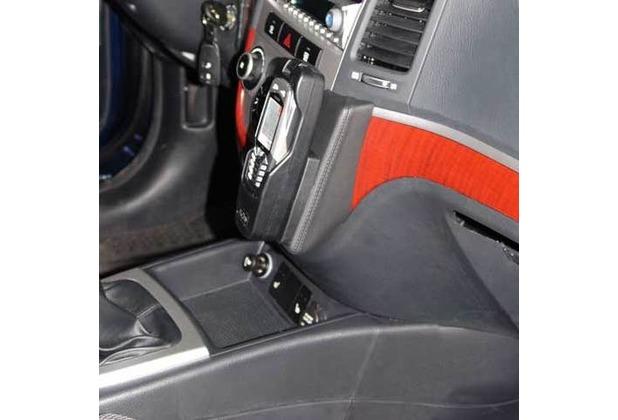 Kuda Lederkonsole für Hyundai Santa Fe ab 03/06 Mobilia / Kunstleder schwarz