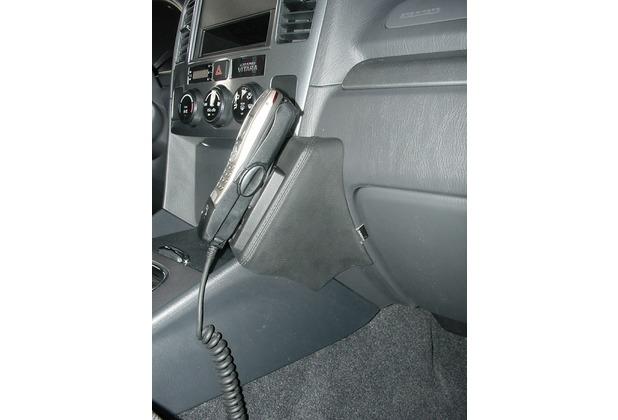 Kuda Lederkonsole für Suzuki Grand Vitara ab 02/03 / XL7 (USA) Echtleder schwarz