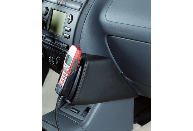 Kuda Lederkonsole SEAT Cordoba / Ibiza ab 8/99 Echtleder schwarz