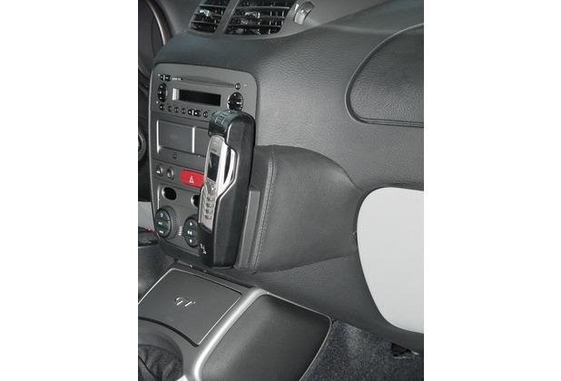 Kuda Lederkonsole für Alfa Romeo GT ab 02/04 Echtleder schwarz
