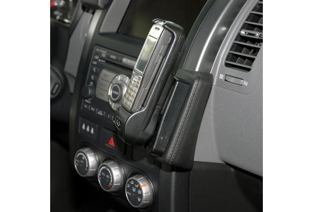 Kuda Lederkonsole für Nissan X-Trail ab 07/2007 Echtleder schwarz