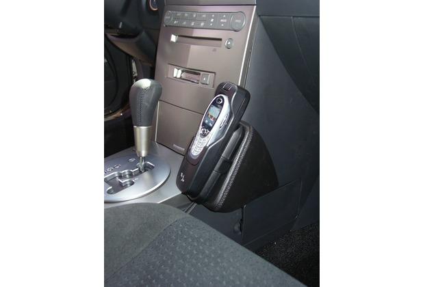 Kuda Lederkonsole für Nissan Maxima ab 02/03 (USA) Kunstleder schwarz