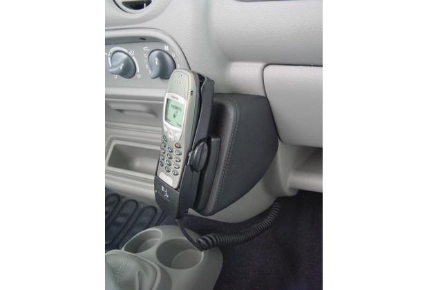 Kuda Lederkonsole RENAULT Twingo ohne Klimaanlage ab 10/00 Kunstleder schwarz