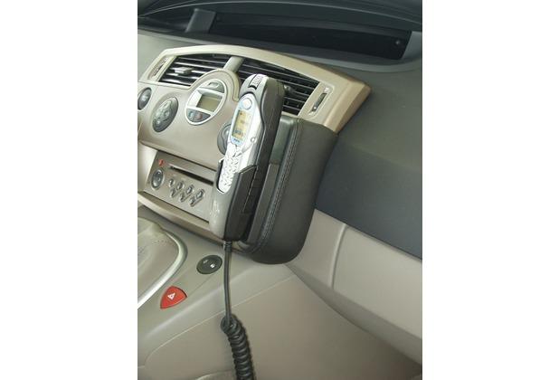 Kuda Lederkonsole für Renault Scénic ab 06/03 Kunstleder schwarz