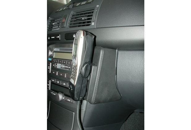 Kuda Lederkonsole für Toyota Avensis ab 04/03 Kunstleder schwarz