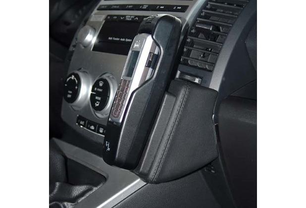 Kuda Lederkonsole für Mazda 5 ab 06/05 u. 04/08 Mobilia / Kunstleder schwarz