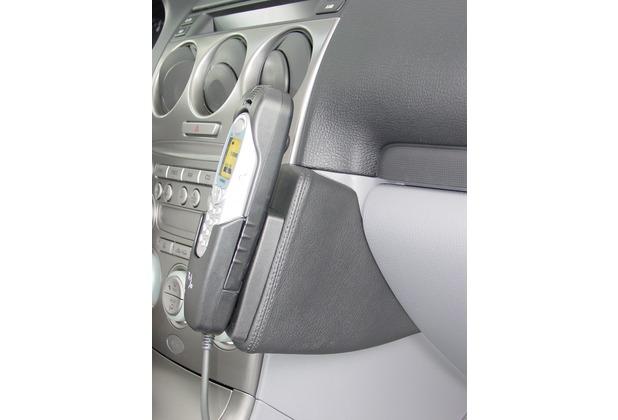 Kuda Lederkonsole für Mazda 6 ab 06/02 Kunstleder schwarz