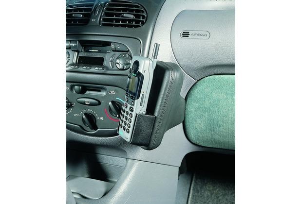Kuda Lederkonsole PEUGEOT 206 ab 10/98 / Cabrio 206 CC Kunstleder schwarz