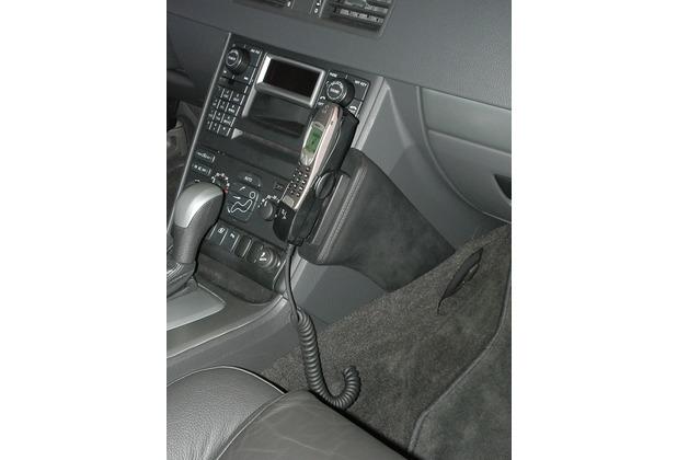 Kuda Lederkonsole für Volvo XC 90 ab 01/03 Kunstleder schwarz