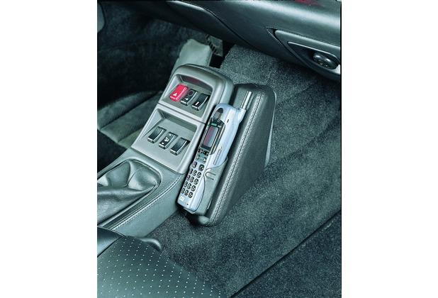 Kuda Lederkonsole PORSCHE 911, Carrera2-4, (964 bis ´93 u. 993 bis ´98) Echtleder schwarz