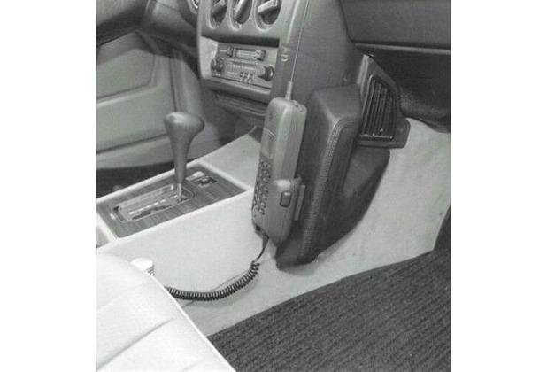 Kuda Lederkonsole für Mercedes-Benz 190er / W201 ab 83 bis 93 nur bei getrennter Mittelkonsole Kunstleder schwarz