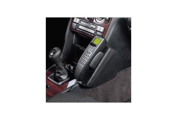 Kuda Lederkonsole DAIMLER BENZ C-Klasse / W202 ab 93 bis 05/00+ T-Modell bis 03/01 Kunstleder schwarz