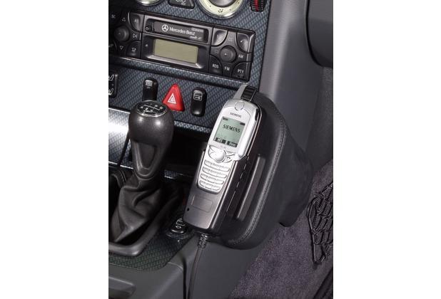 Kuda Lederkonsole DAIMLER BENZ SLK / R170 ab 96+Modell 2001 Echtleder schwarz