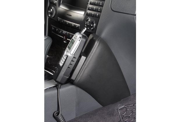 Kuda Lederkonsole DAIMLER BENZ E-Klasse / W211 ab 3/02 Kunstleder schwarz