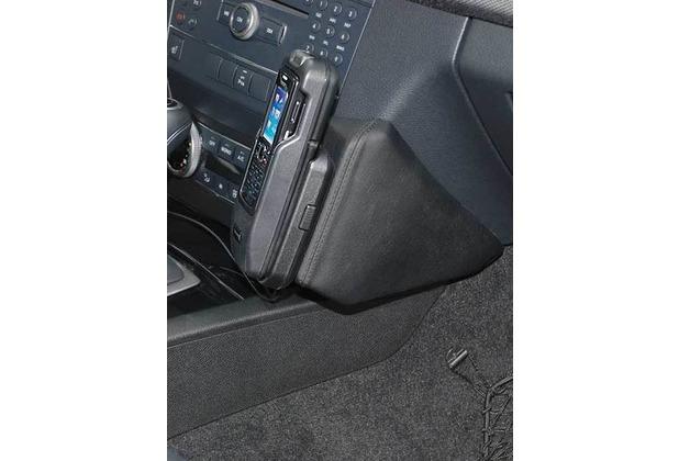 Kuda Lederkonsole für Mercedes GLK 10/2008 Echtleder schwarz