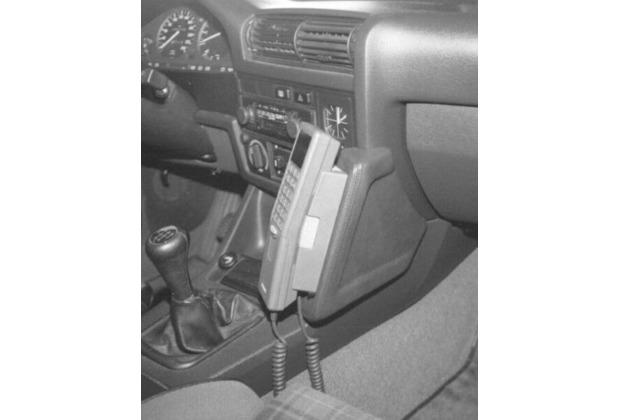 Kuda Lederkonsole BMW 3er / E30 82-90 / Touring bis Bj.94 Echtleder schwarz