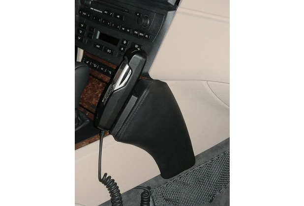Kuda Lederkonsole für BMW X3 (E83) ab 01/04 Kunstleder schwarz