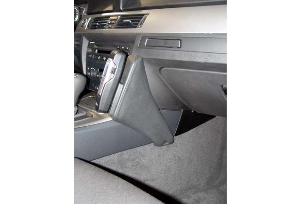 Kuda Lederkonsole für BMW 3er (E90) ab 03/05 ( ohne i-drive ) Kunstleder schwarz