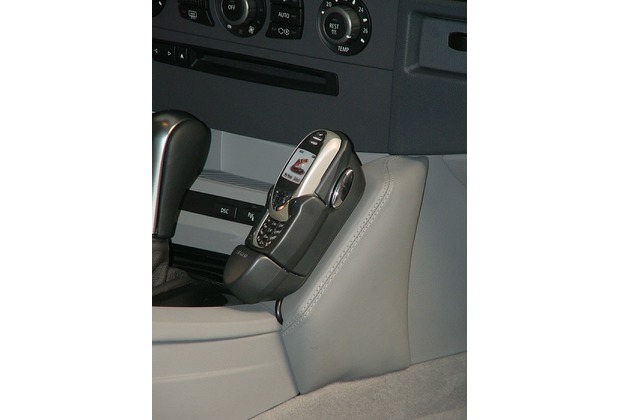 Kuda Lederkonsole für BMW 5er (E60) ab 07/03 bis 02/07 Kunstleder schwarz