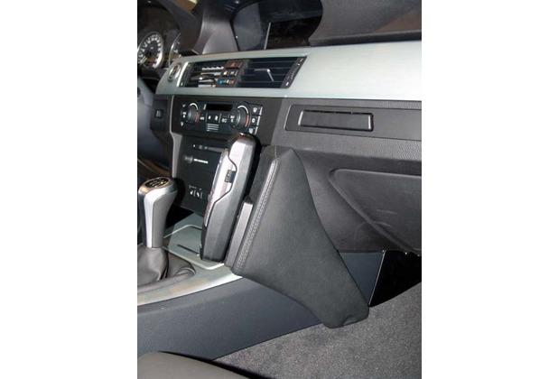 Kuda Lederkonsole für BMW 3er (E90) ab 03/05 ( mit i-drive ) Echtleder schwarz