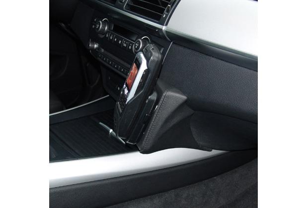 Kuda Lederkonsole für BMW X5 ab 01/2007 Mobilia / Kunstleder schwarz