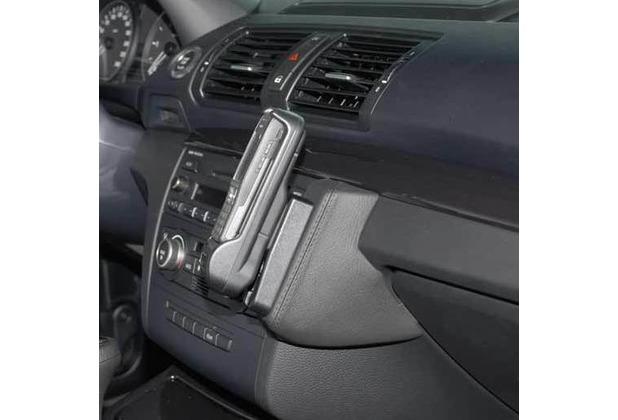 Kuda Lederkonsole für BMW 1er (E87) ab 03/07 Mobilia / Kunstleder schwarz
