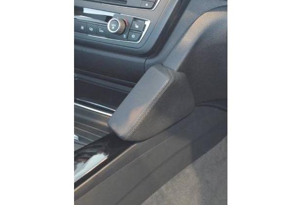 Kuda Lederkonsole für BMW 3er ab 02/2012 Echtleder, schwarz