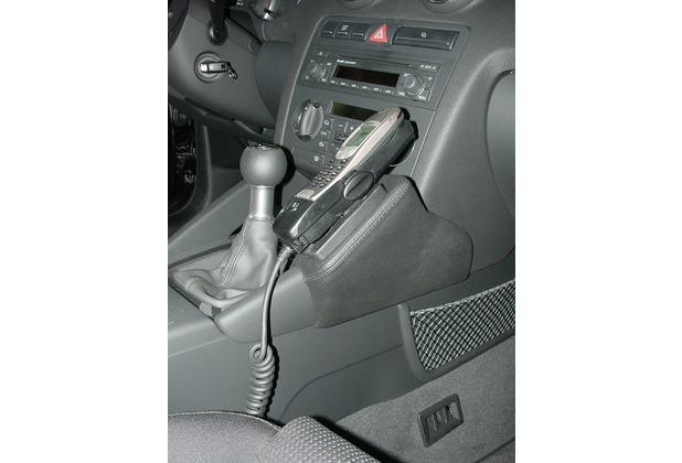 Kuda Lederkonsole für Audi A3 ab 05/03 Kunstleder schwarz
