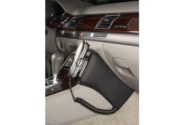Kuda Lederkonsole für Audi A8 ab 11/02 Echtleder schwarz