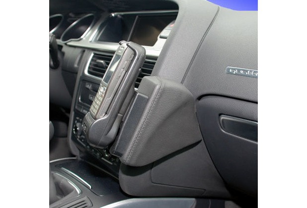 Kuda Lederkonsole für Audi A5 ab 06/07 & A5 Sportback ab 10/09 Mobilia / Kunstleder schwarz