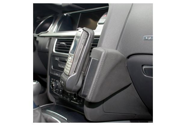 Kuda Lederkonsole für Audi A4 (B8) ab 11/07 Echtleder schwarz