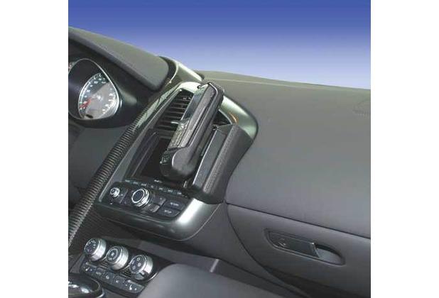 Kuda Lederkonsole für Audi R8 ab 02/07 Mobilia / Kunstleder schwarz