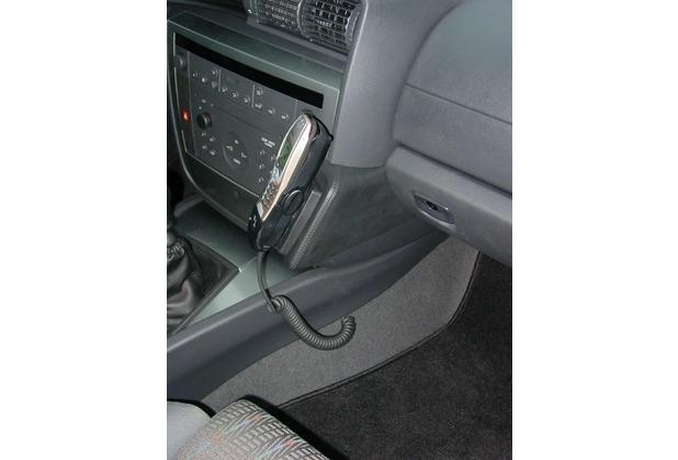 Kuda Lederkonsole für Opel Omega B ab 10/99 Montage oben Kunstleder schwarz