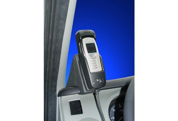 Kuda Lederkonsole für Nissan Interstar ab 2003 Kunstleder schwarz