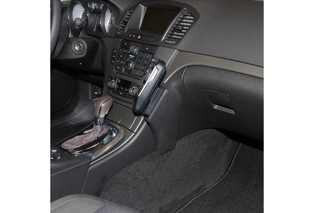 Kuda Lederkonsole für Opel Insignia ab 11/08 Kunstleder schwarz