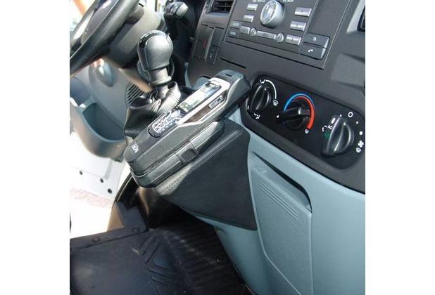 Kuda Lederkonsole für Ford Transit ab 06/06 Mobilia / Kunstleder schwarz
