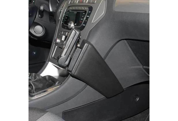 Kuda Lederkonsole für Ford Mondeo ab 06/07 Mobilia / Kunstleder schwarz