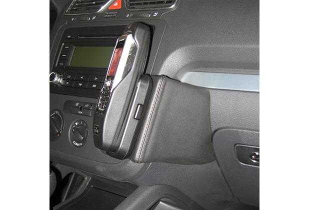 Kuda Lederkonsole für VW Eos ab 05/06 / Scirocco 08/08 Mobilia / Kunstleder schwarz