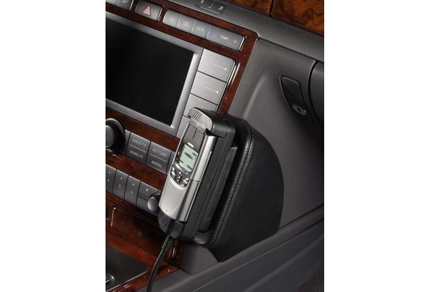 Kuda Lederkonsole für VW Phaeton ab 05/02 Echtleder schwarz