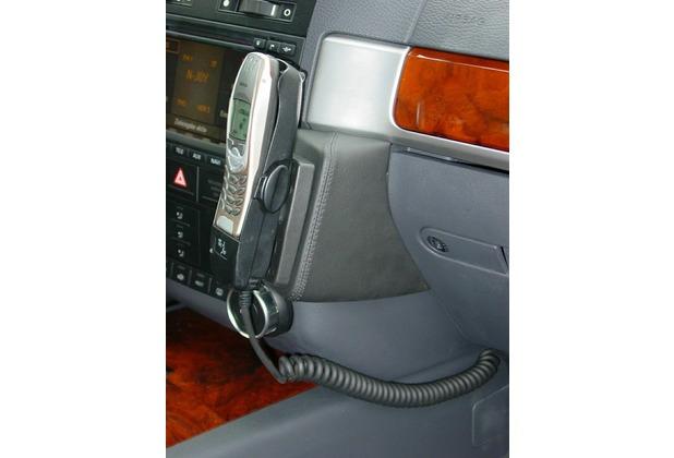 Kuda Lederkonsole für VW Touareg ab 11/02 Kunstleder schwarz