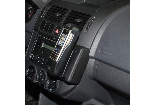 Kuda Lederkonsole für VW Polo 9N ab 11/01-06/09 (Montage oben) Mobilia / Kunstleder schwarz
