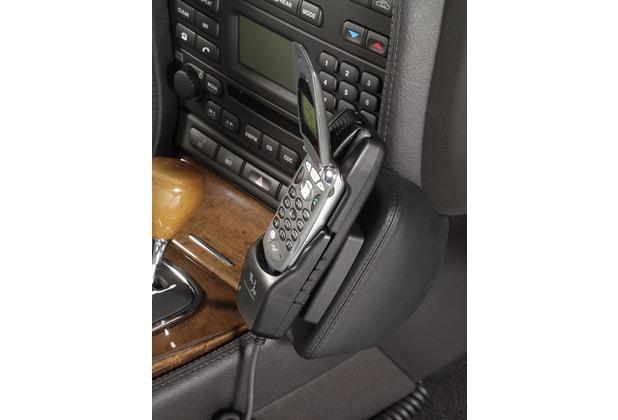 Kuda Lederkonsole für Jaguar S-Type ab 03/02 (auf Anfrage) Echtleder schwarz