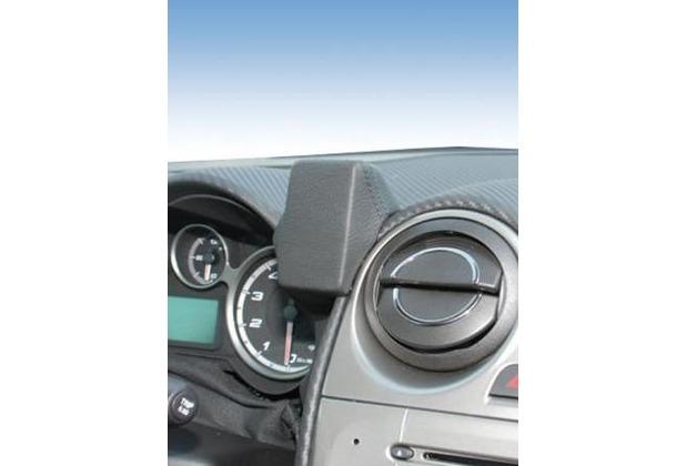Kuda Lederkonsole für Alfa Romeo Mito ab 09/08 Mobilia / Kunstleder schwarz