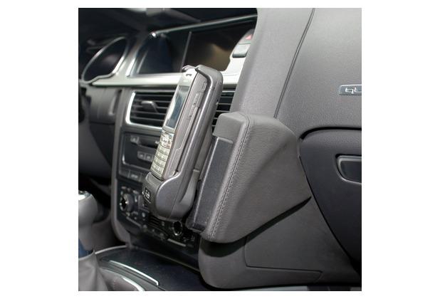 Kuda Lederkonsole für Audi A4 ab 11/07 Mobilia / Kunstleder schwarz